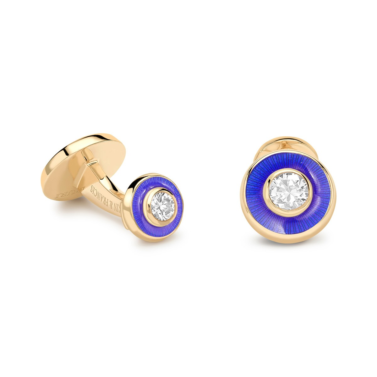 Deakin and Francis - Enamel Push Through Cufflinks