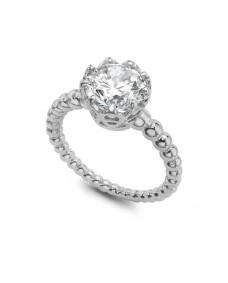 Majestic Ring - Riverton Diamond in White Gold