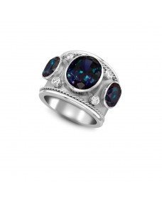 Oval Cut Ring - Riverton Ruby in White Gold
