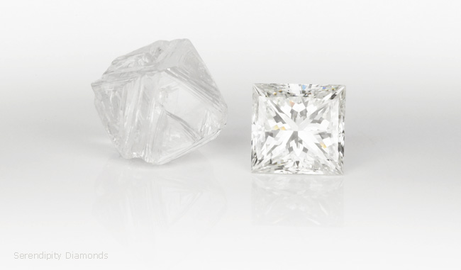 Fact 7 - The quality of the cutting determines most of the beauty of a Diamond.
